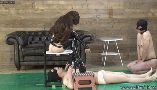 池袋パーブスの「乙姫エミル」女王様によるマゾ男調教プレイ