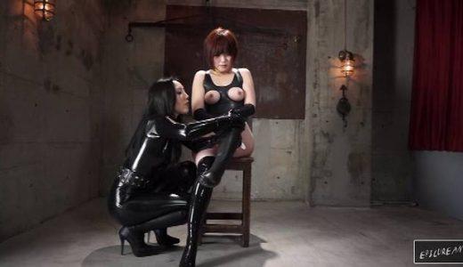 【拉致られラバー人形】SMクラブ「Godess」の「辰神麗子」女王様によるラバー調教