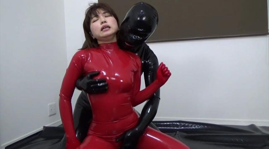 ラバーガスマスク彼女と呼吸制御SEX!!! 006