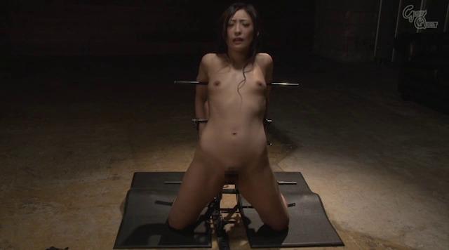 Anal Device BondageVII 鉄拘束アナル拷問 神納花-001